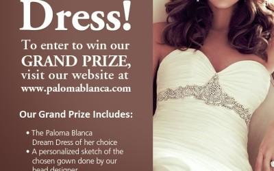Paloma Blanca Dream Dress Contest