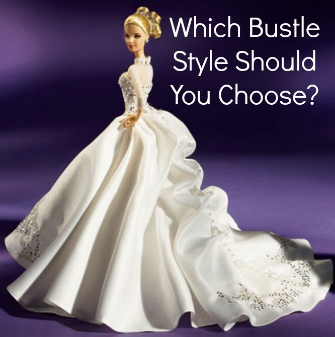 Which Bustle Style Should You Choose The White Room Birmingham