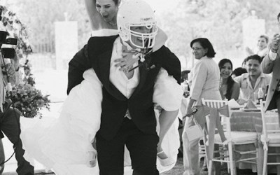 Football Inspired Wedding Ideas